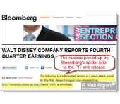Disney's earnings release leak shocks stock