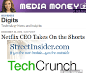 Summary: Reaction to Netflix CEO's blog response to short-seller
